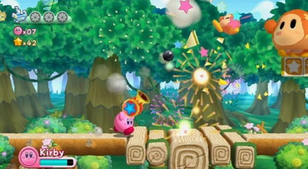 Kirby's Adventure: immagini del platform