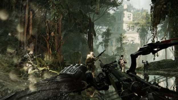 Crysis 3, gameplay: i soldati della Cell Corporation [FOTO]