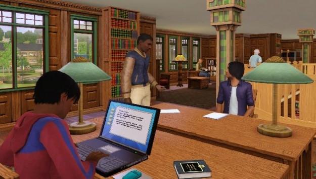 Le immagini del gioco di simulazione The Sims 3