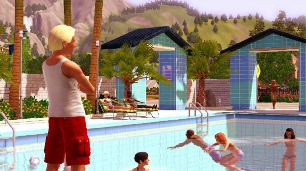 The Sims 3: la piscina