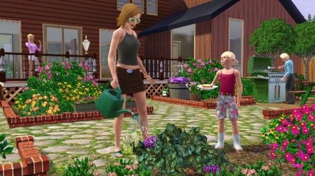 Le immagini del gioco di simulazione The Sims 3