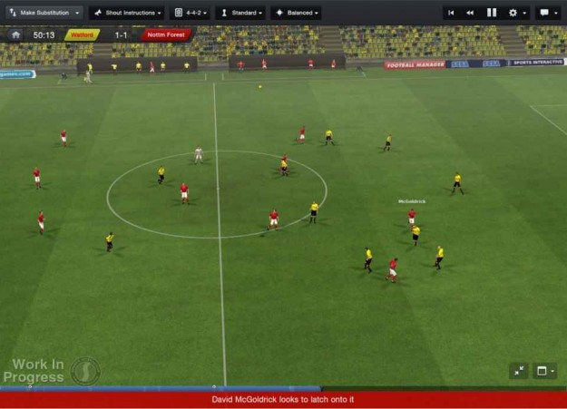 Football Manager 2013: partita