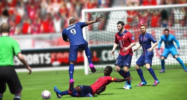Giocatori di FIFA 13 in campo