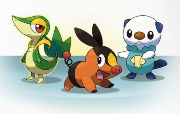 Gli starter di Pokemon Bianco e Nero 2