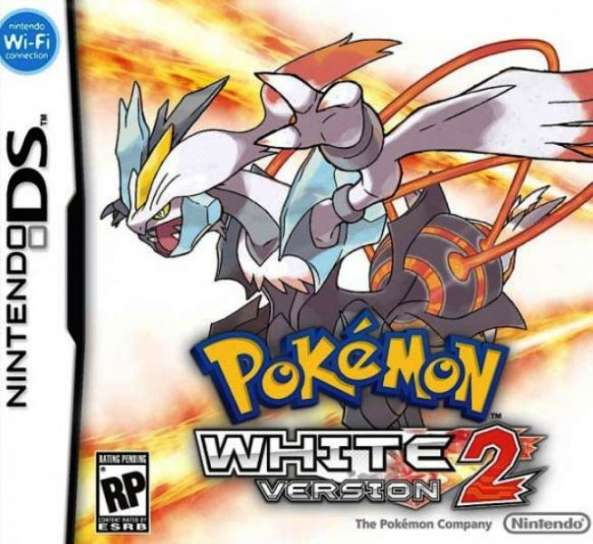La cover inglese di Pokemon Bianco 2
