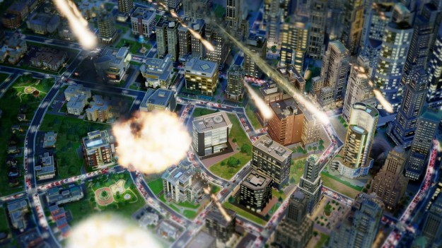 SimCity: meteoriti