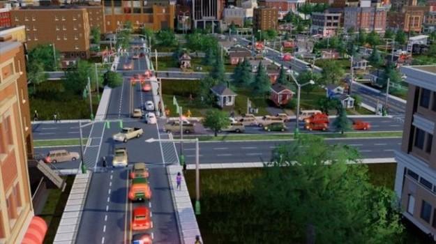 SimCity: le immagini del traffico cittadino