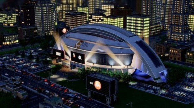 SimCity: traffico di notte