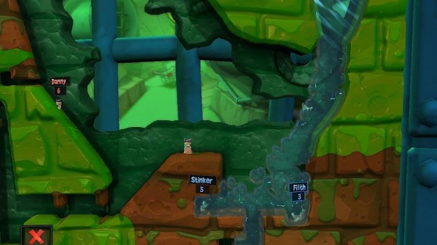 Worms Revolution: gameplay entusiasmante