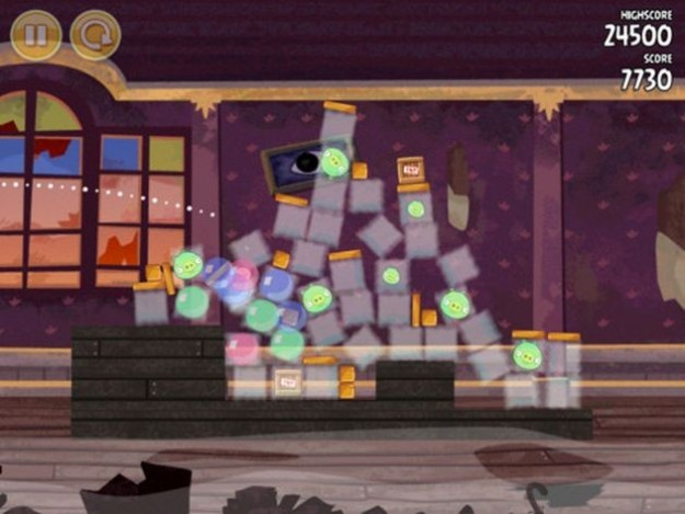 Angry Birds Seasons: grafica coinvolgente