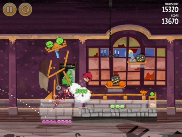 Angry Birds Seasons: aggiornamento di Halloween