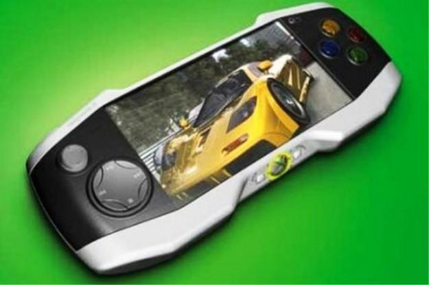 Un concept rettangolare del controller di Xbox 720