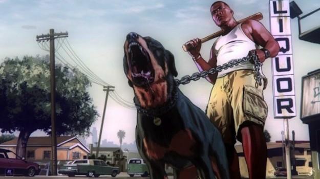 GTA 5: scene