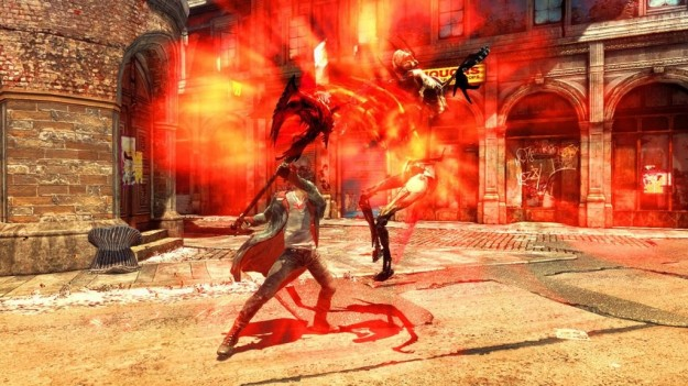 Devil May Cry 5: l'elemento fuoco