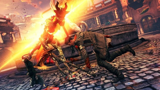Devil May Cry 5: un combattimento