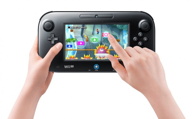 Nintendo Wii U: GamePad touchscreen resistivo