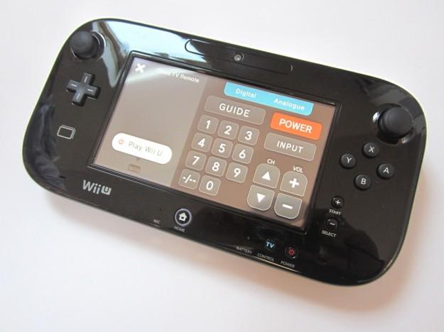 Nintendo Wii U: GamePad nero