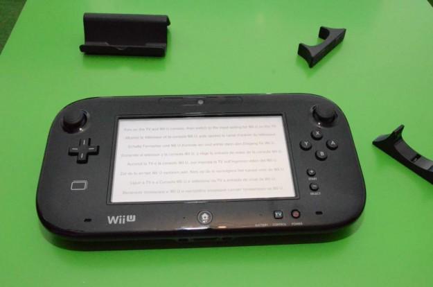 Nintendo Wii U: GamePad con giroscopio
