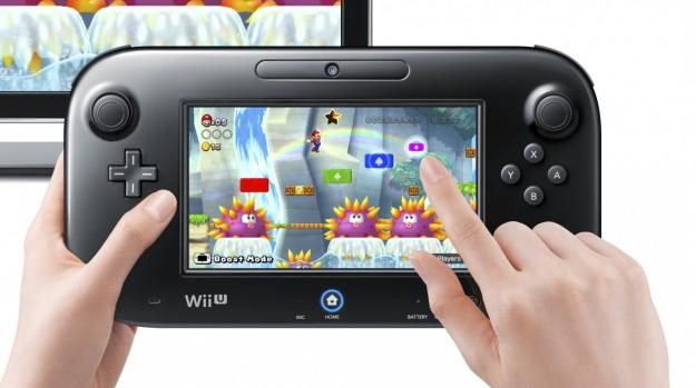 Nintendo Wii U: GamePad da 6.2 pollici