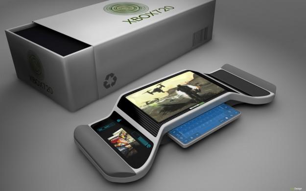 Concept di Xbox 720 con tastiera