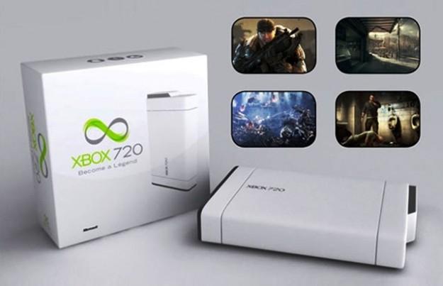 Un concept di Xbox 720 bianca