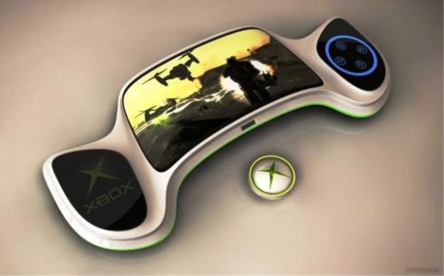 Un concept di Xbox 720 portatile