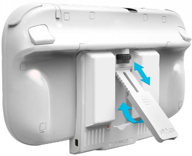 Nintendo Wii U: parte posteriore del GamePad