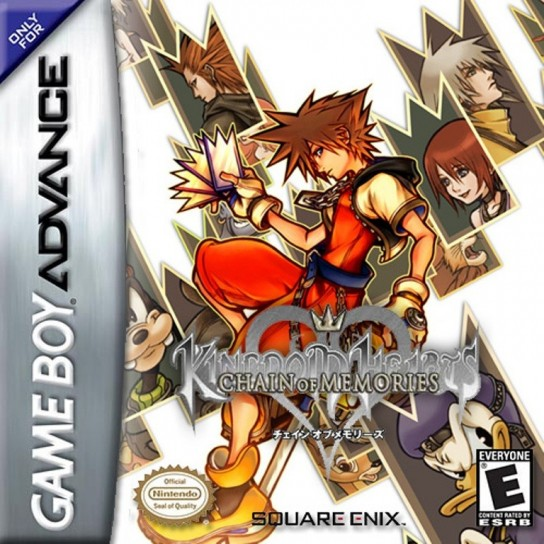 Cover di Kingdom Hearts Chain of Memories