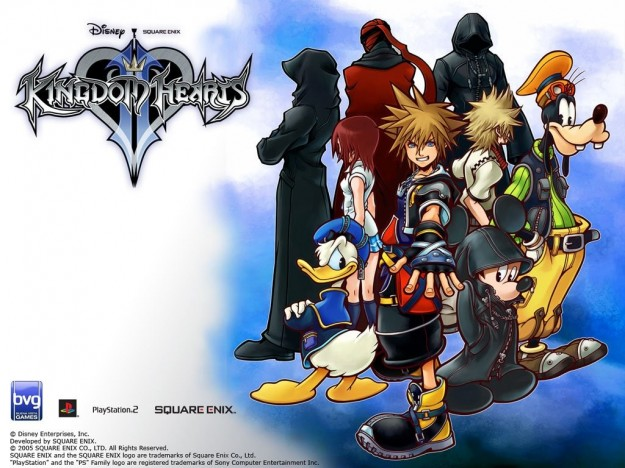 I personaggi principali di Kingdom Hearts 2