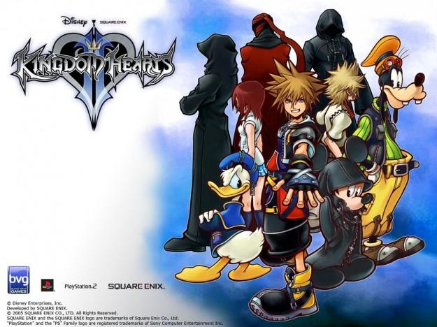 I personaggi principali di Kingdom Hearts 2