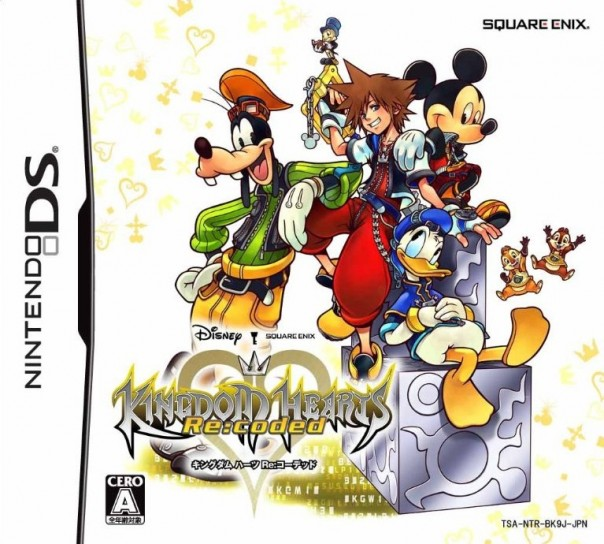 La cover di Kingdom Hearts Re Coded