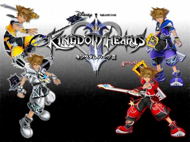 Le trasformazioni di Sora in Kingdom Hearts 2