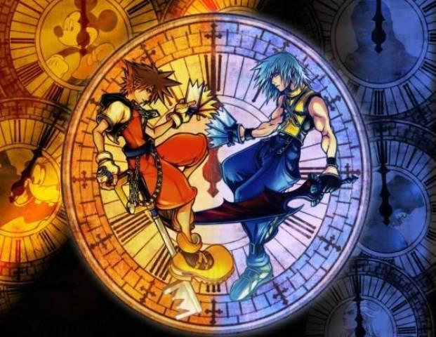 Riku e Sora amici nemici