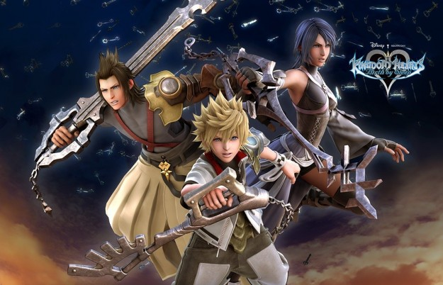 Terra Aqua e Ventus di Kingdom Hearts Birth By Sleep