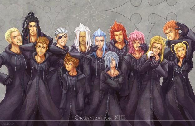 Un artwork dell'Organizzazione XIII