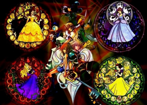 Un wallpaper di Kingdom Hearts