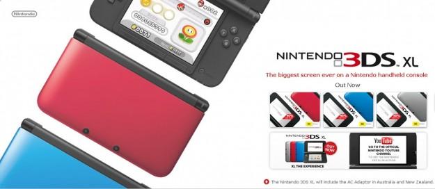 Confezione di Nintendo 3DS XL