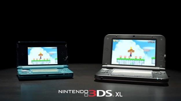 Confronto fra 3DS e 3DS XL