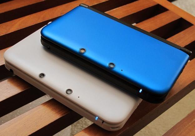 Due colori per Nintendo 3DS XL