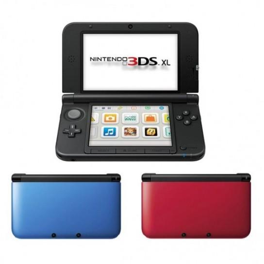 I vari colori di Nintendo 3DS XL