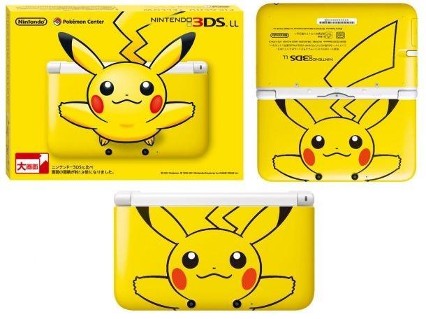 La confezione di Nintendo 3DS XL con Pikachu