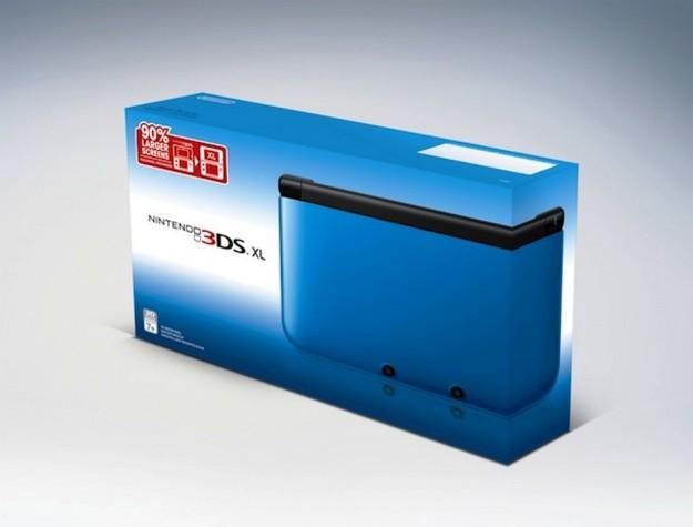 La confezione di Nintendo 3DS XL