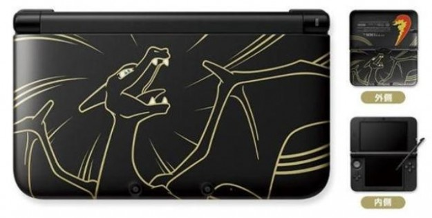 Nintendo 3DS XL con Charizard