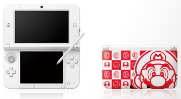 Nintendo 3DS XL con Mario