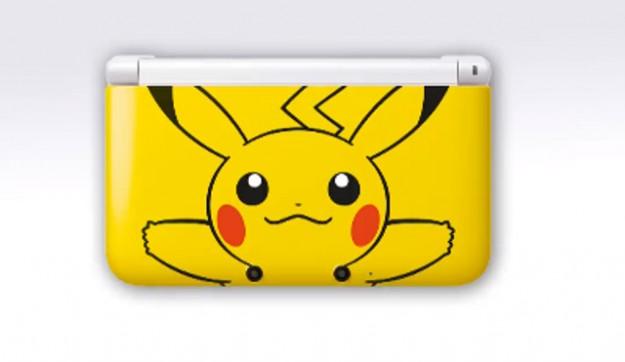 Nintendo 3DS XL con Pikachu