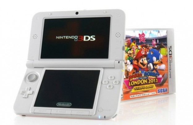 Nintendo 3DS XL in bundle con Mario e Sonic 2012