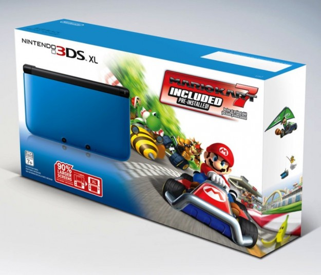Nintendo 3DS XL in bundle con Super Mario Kart