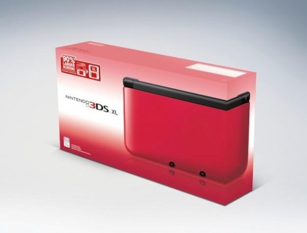 Nintendo 3DS XL rosso