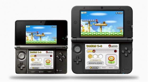 Super Mario su Nintendo 3DS XL