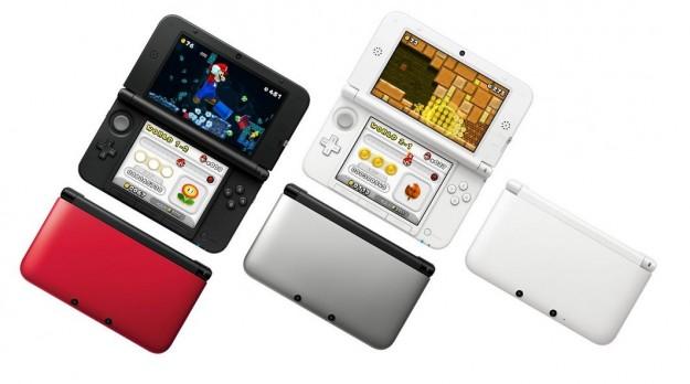 Tre colori diversi per Nintendo 3DS XL con Super Mario